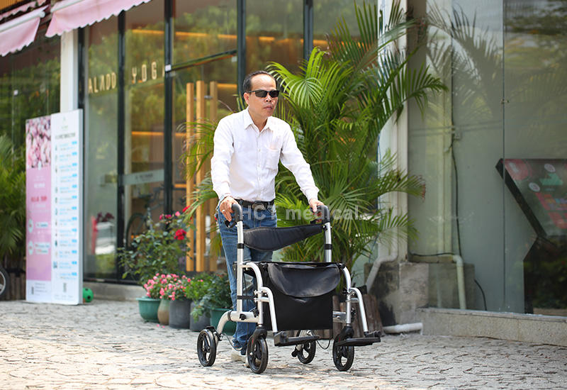 height rollator HCT Medical rollator walker