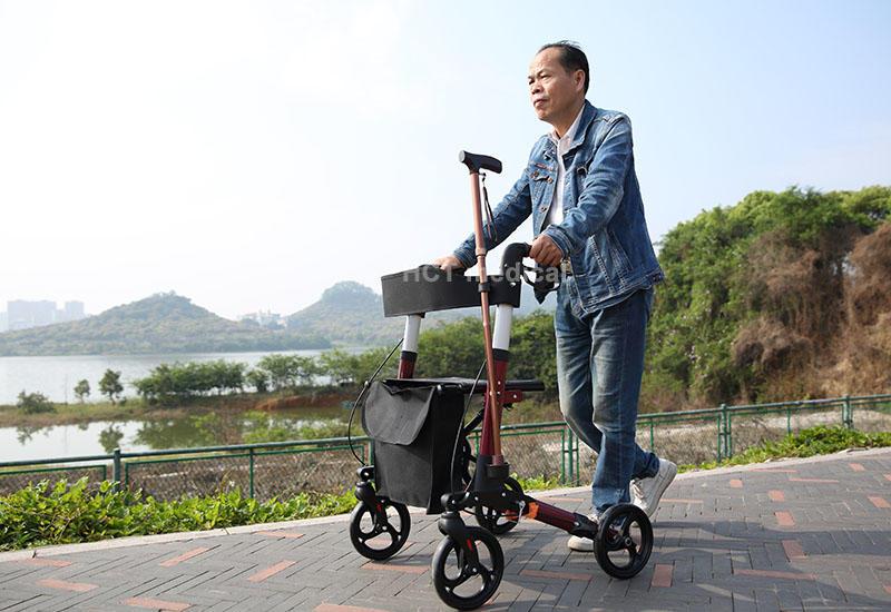 HCT Medical Brand transport rollator walker knockeddown factory