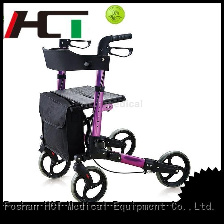 HCT Medical Brand walker functional rollator walker chair factory