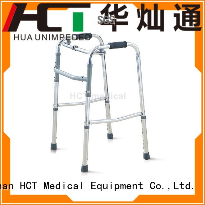 HCT Medical Brand lightweight transfer aluminum rollator steel supplier
