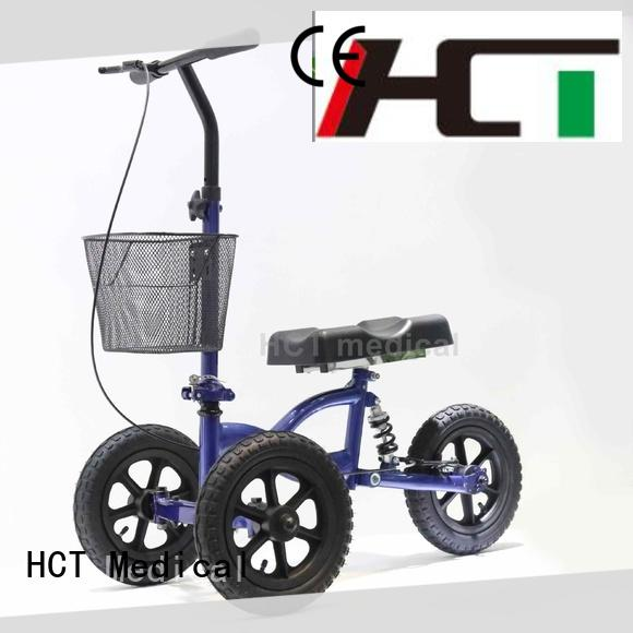 HCT Medical knee wheel walker wholesale for home use