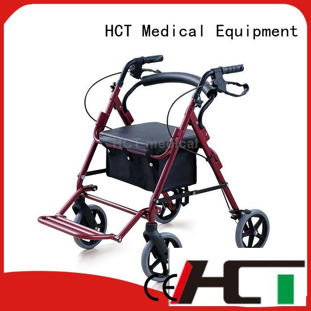 HCT Medical rollator wheelchair design for patient