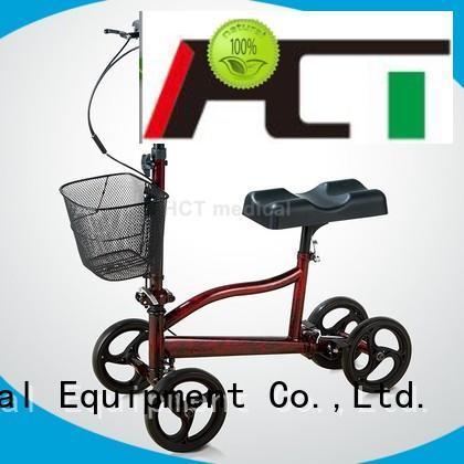 ambulate knee walker terrain knee knee walker scooter steel HCT Medical Brand