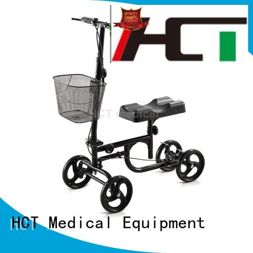 HCT Medical Brand walker terrain all steel knee walker scooter