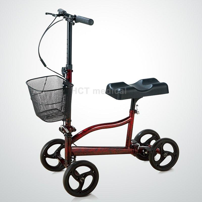 Steerable Knee Scooter Walker HCT-9126