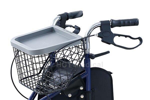 transport indoor HCT Medical Brand aluminum rollator
