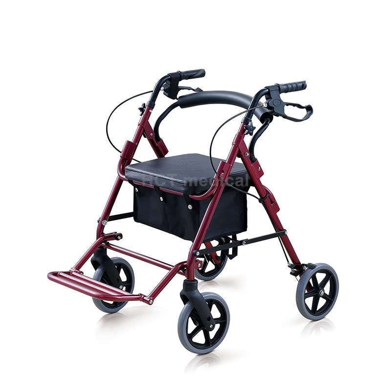 HCT Medical 2 in 1 Folding Transfer Chair/Rollator HCT-9111B Rollator Walker image21