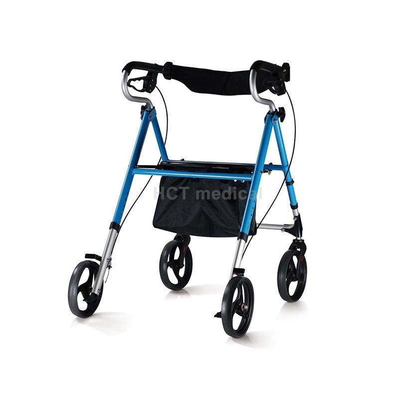 HCT Medical Aluminum Lightweight Rollator HCT-9131 Rollator Walker image16