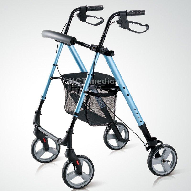 HCT Medical Seat Height Adjustable Rollator HCT-9188 Rollator Walker image13