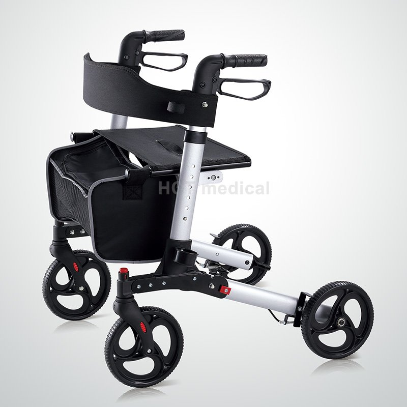 HCT Medical Rollator Walker with Seat and Basket HCT-9226 Rollator Walker image11