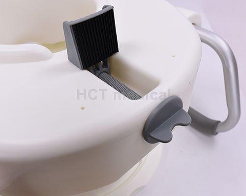 4″ handrails raised toilet seat 4 inch HCT Medical Brand company