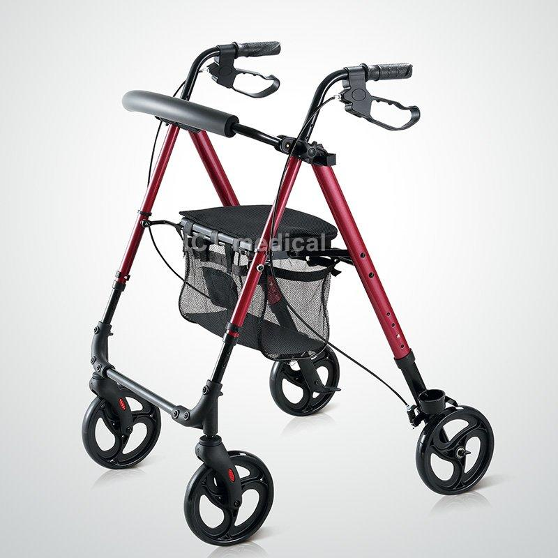 HCT Medical Brand chairrollator knockeddown walker transport rollator walker