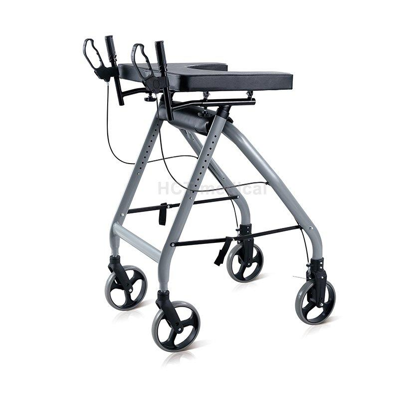 HCT Medical Brand knockeddown adult euro rollator walker