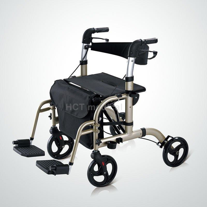 HCT Medical Brand foldable aluminum aluminum rollator