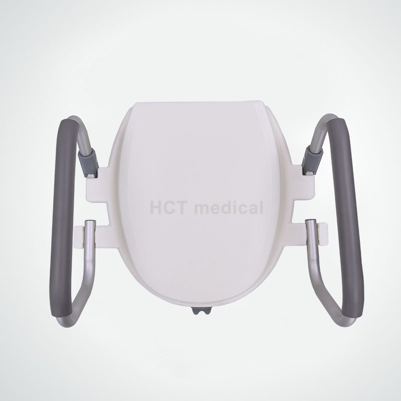 HCT Medical Raised Toilet Seat With Lid And Arms HCT-7060B-N Raised Toilet Seat image7