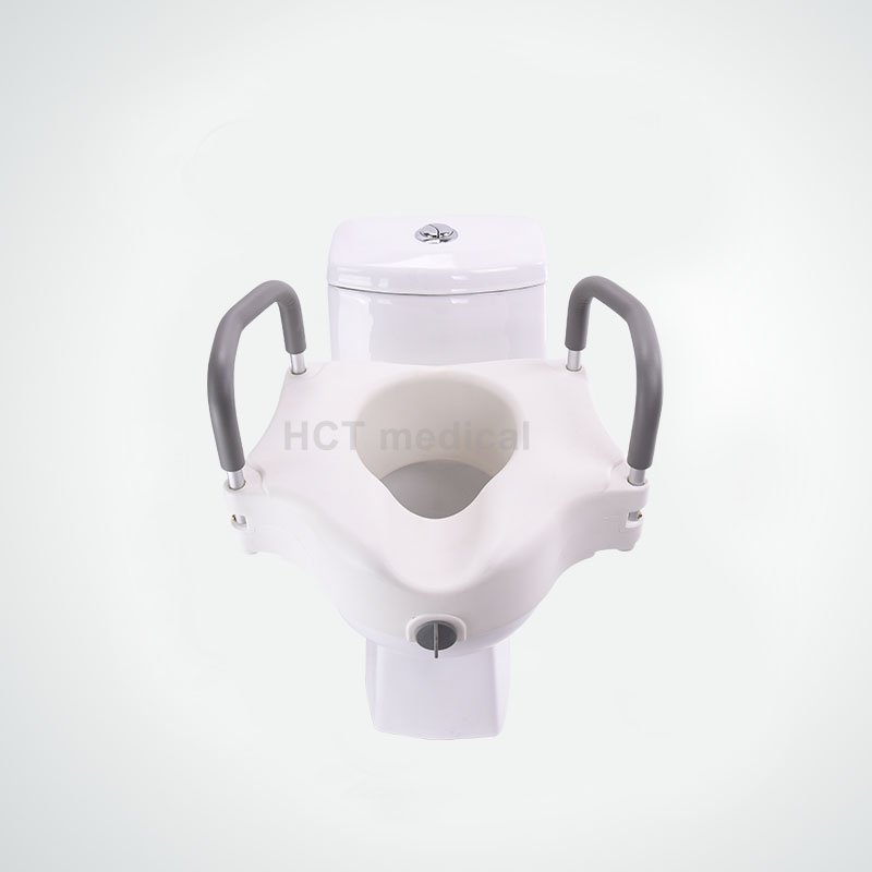 HCT Medical Raised Toilet Seat with Armrest HCT-7060B Raised Toilet Seat image8