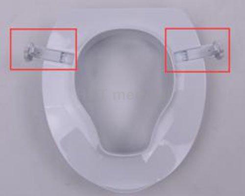 handrails 4″ toilet raised toilet seat armrest HCT Medical