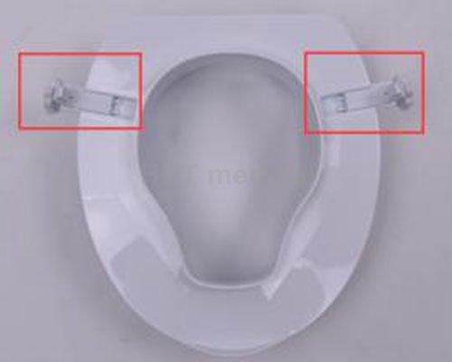 HCT Medical Brand seat 4 inch lid raised toilet seat manufacture