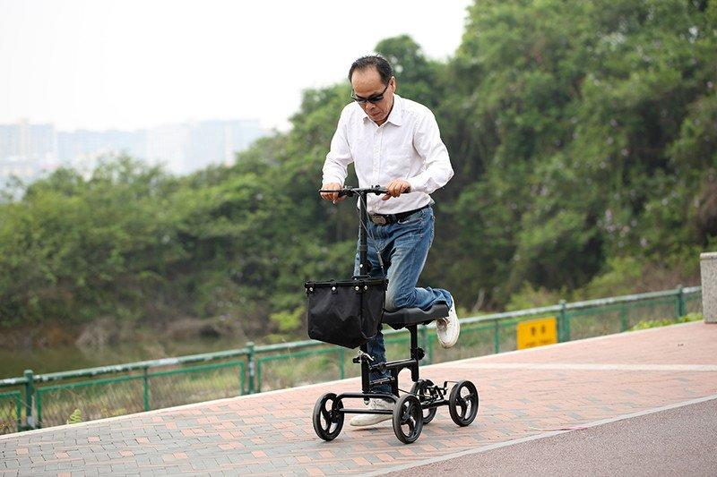 HCT Medical Brand steel terrain ambulate knee walker all supplier