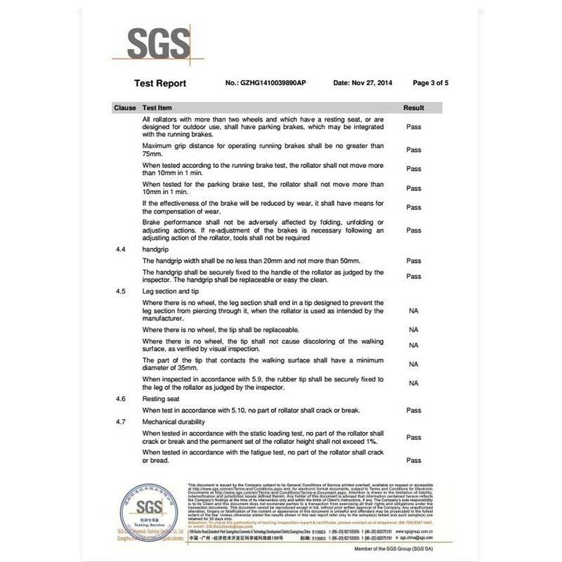 SGS test report HCT-9102