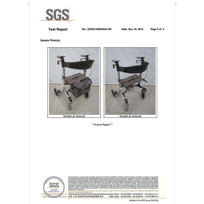 SGS test report HCT-9166B