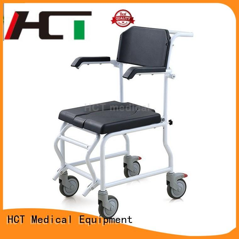 HCT Medical comfortable shower commode chair series for hospital
