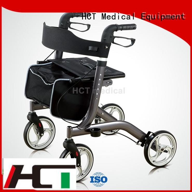 patent seat rollator walker chair HCT Medical