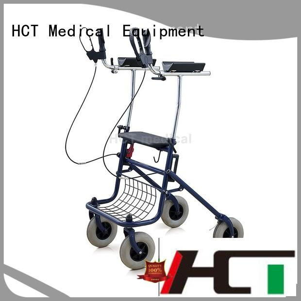 patent adult wheeled rollator walker rolling HCT Medical Brand