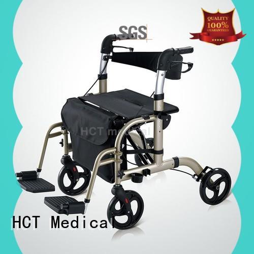 forearm aluminum rollator manufacturing for rehabilitation centre HCT Medical