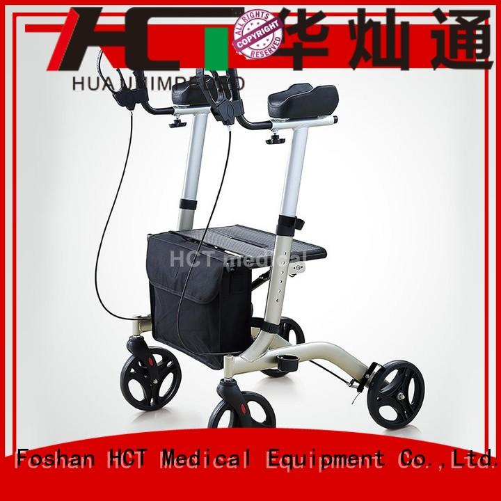 HCT Medical Brand forearm wheeled custom aluminum rollator