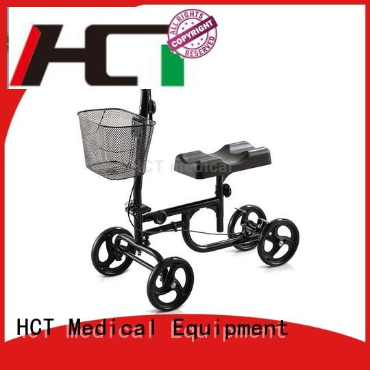 foldable all terrain knee walker factory direct supply for rehabilitation centre