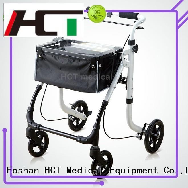 Wholesale foldable aluminum rollator HCT Medical Brand