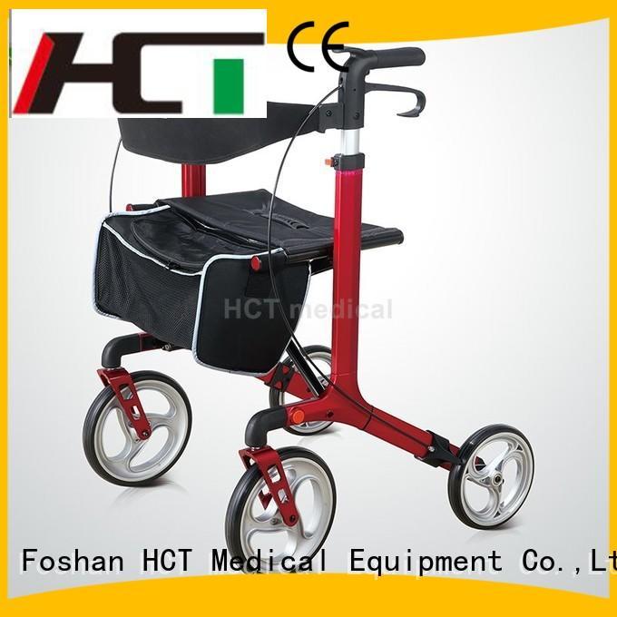 HCT Medical Brand knockeddown foldable euro aluminum rollator