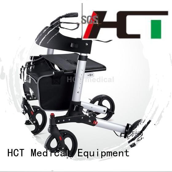 transport patent aluminum rollator wheeled HCT Medical company