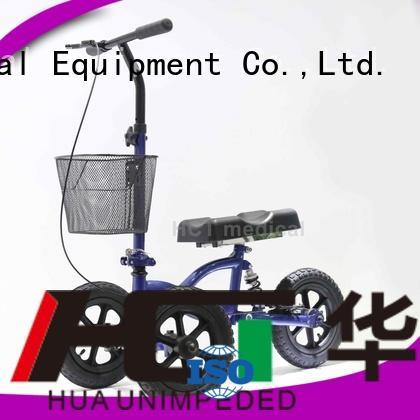 steel walker knee knee walker scooter terrain HCT Medical Brand
