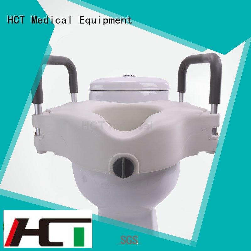 Custom 6 inch raised toilet seat toilet HCT Medical
