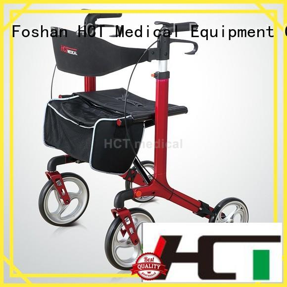 Quality HCT Medical Brand aluminum rollator functional steel