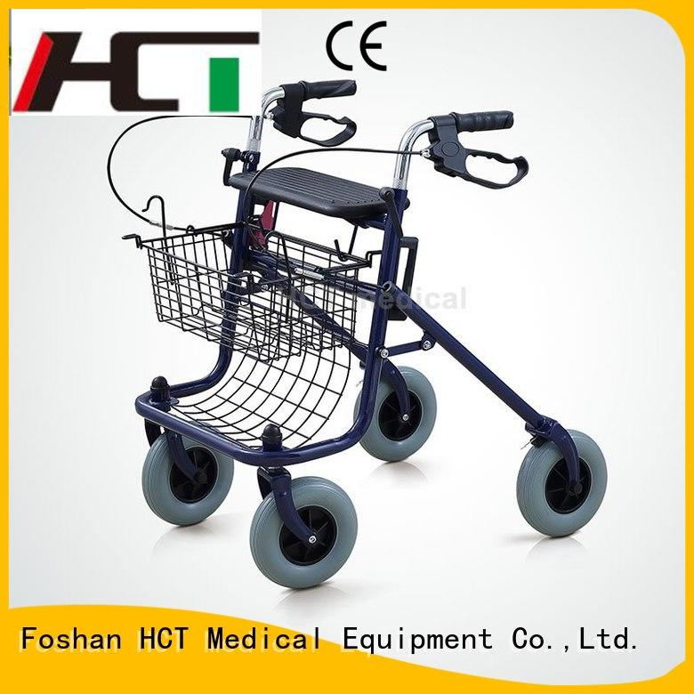 adult aluminum rollator forearm function HCT Medical Brand