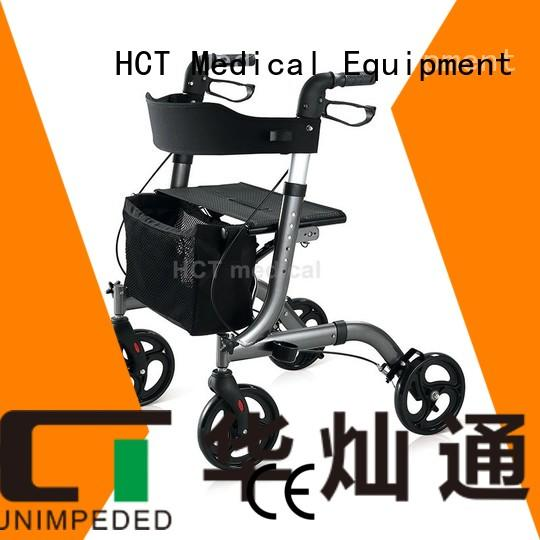 HCT Medical Brand transport rolling patent function rollator walker