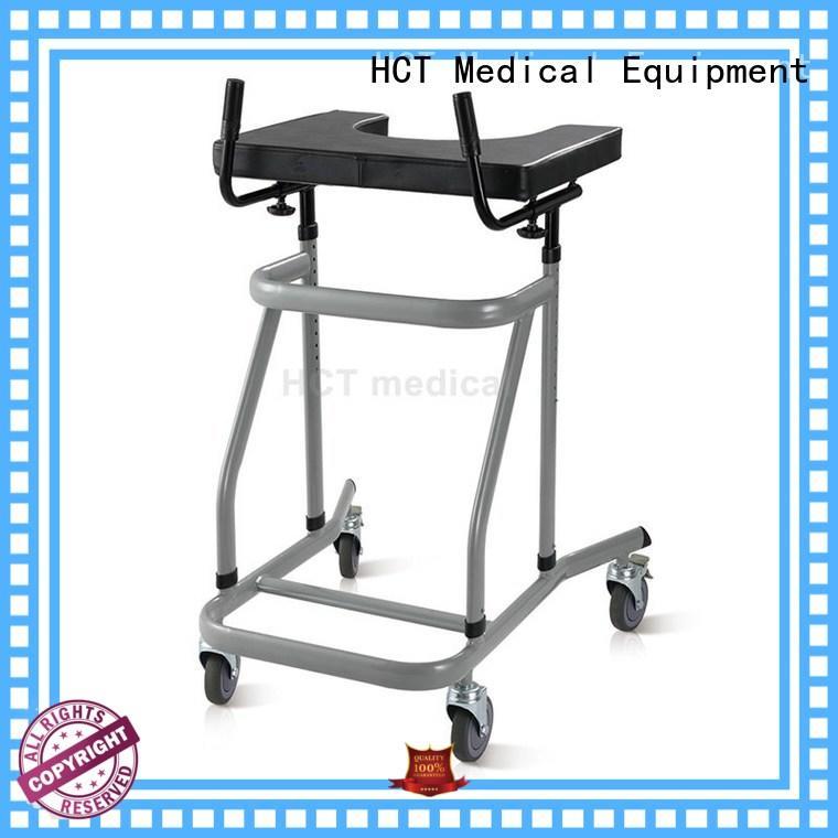 HCT Medical foldable rollator walker reciprocal for rehabilitation centre
