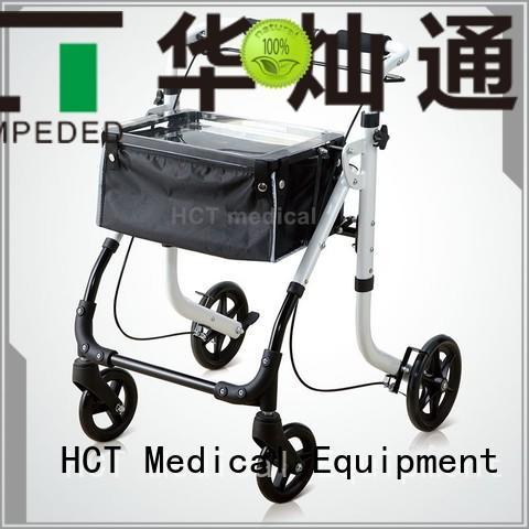 Custom patent rollator walker wheeled HCT Medical