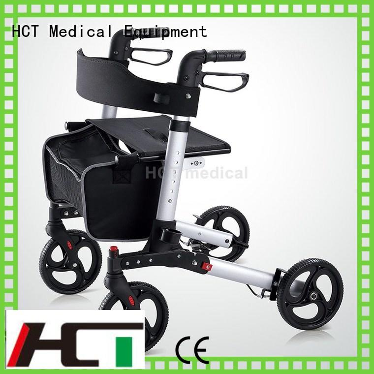 aluminum rollator function foldable HCT Medical Brand company