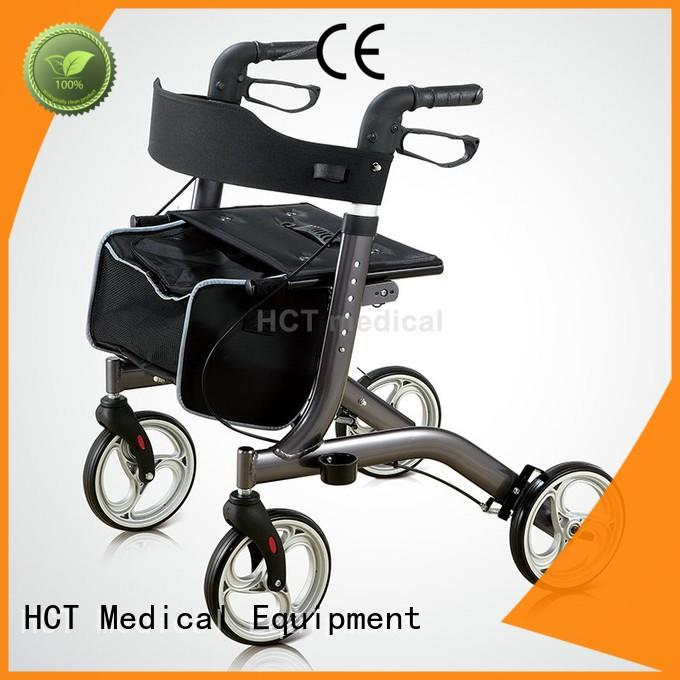 forearm rollator walker with seat manufacturing for patient HCT Medical