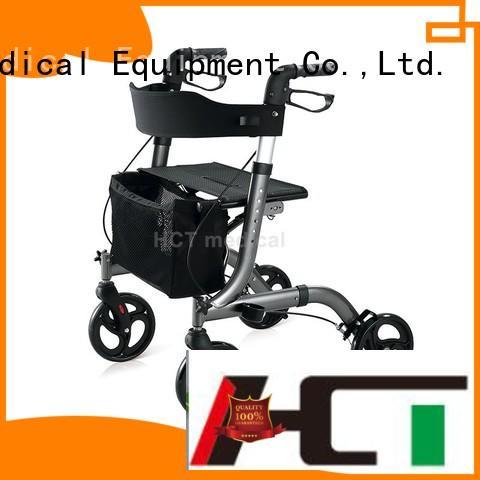 HCT Medical Brand lightweight transfer rollator aluminum rollator