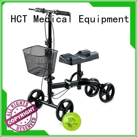 steel knee walker scooter for sale thick knee pad for home use HCT Medical