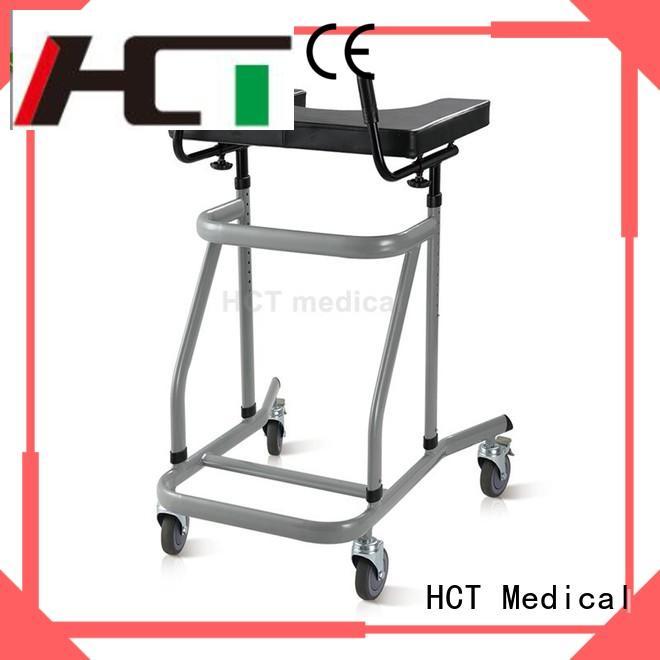 HCT Medical convenient rollator walker supplier for elderly