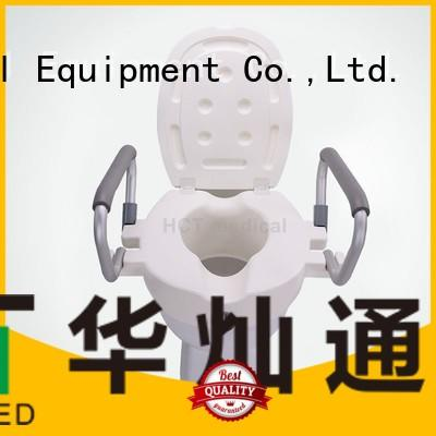 6 inch raised raised toilet seat HCT Medical Brand