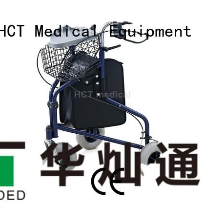 HCT Medical Brand wheeled aluminum rollator simple supplier
