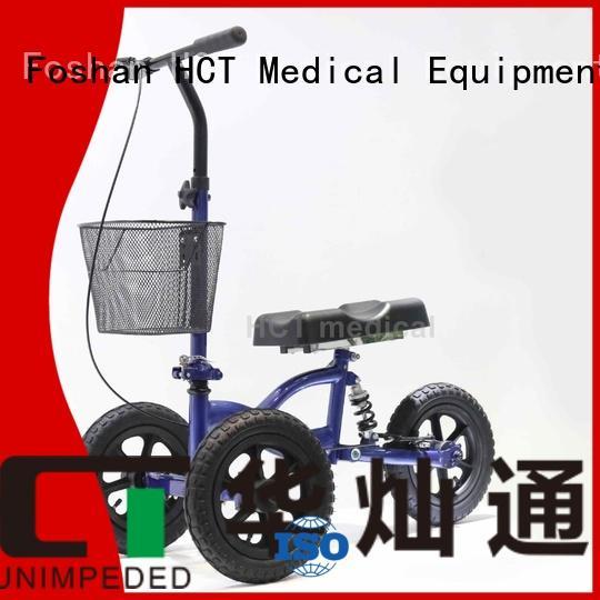 terrain steel HCT Medical Brand ambulate knee walker