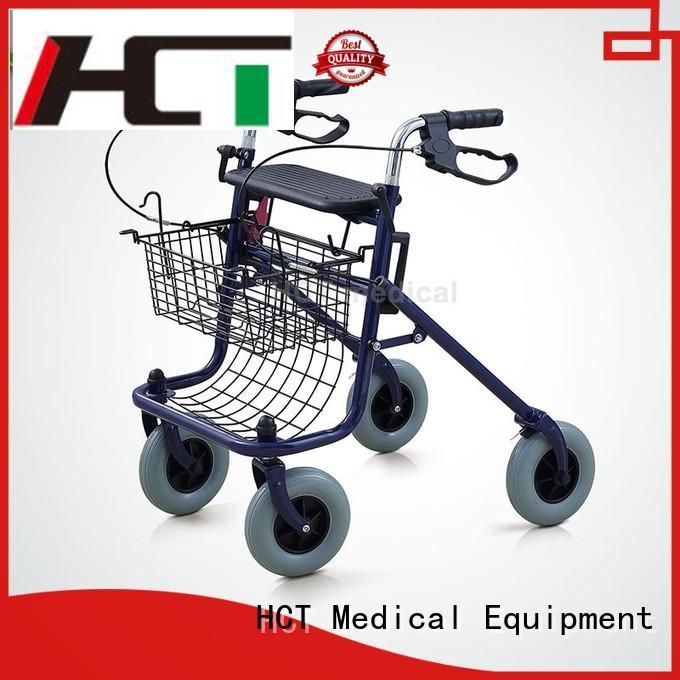 HCT Medical european style aluminum rollator series for rehabilitation centre